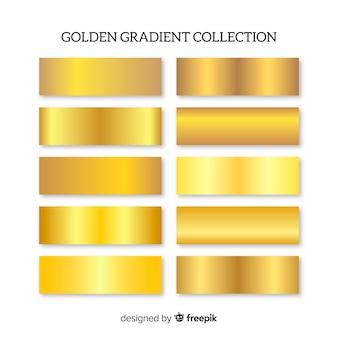 Paquete degradados dorados