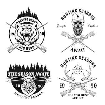 Paquete de diseño de caza