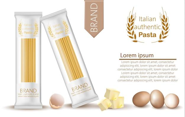 Paquete de espaguetis de pasta