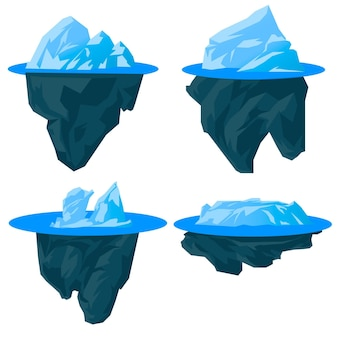 Paquete de icebergs