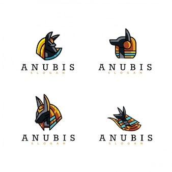 Paquete de logo de anubis