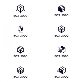 Paquete de logo caja