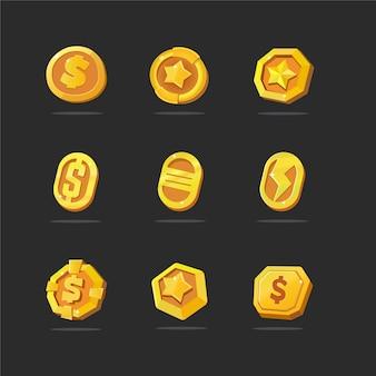 Paquete de monedas de oro