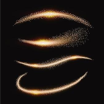 Paquete de ondas de brillo