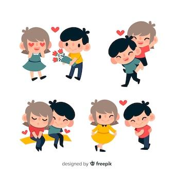 Paquete parejas día de san valentín
