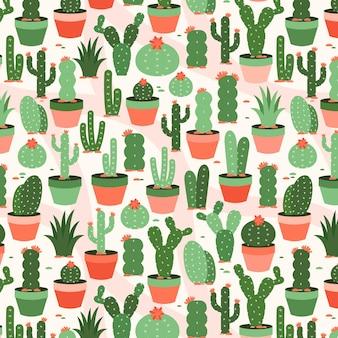 Paquete de patrones de cactus