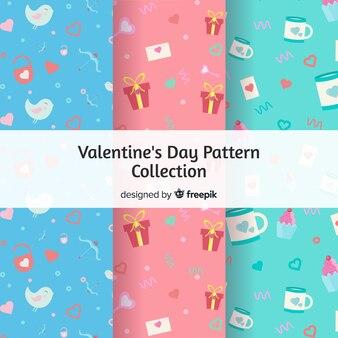 Paquete patrones día de san valentín