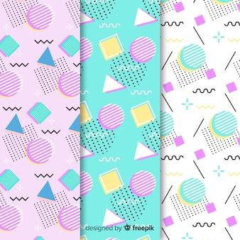 Paquete de patrones sin fisuras de memphis