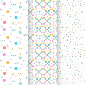 Paquete de patrones geométricos mínimos