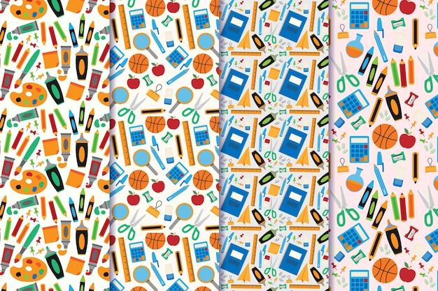 Paquete de patrones de regreso a la escuela