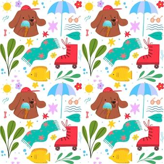 Paquete de patrones de verano