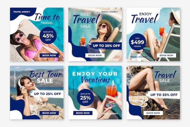Paquete de puestos de venta itinerantes