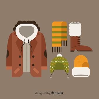 Paquete ropa invierno plana