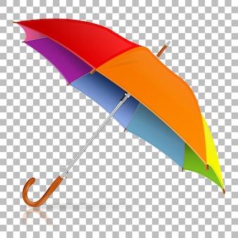 Paraguas alto detallado