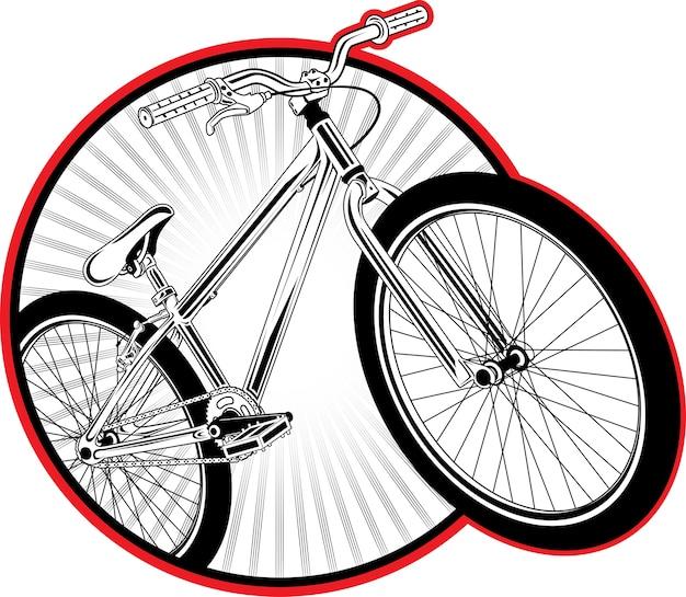 Parche de bicicleta de suciedad