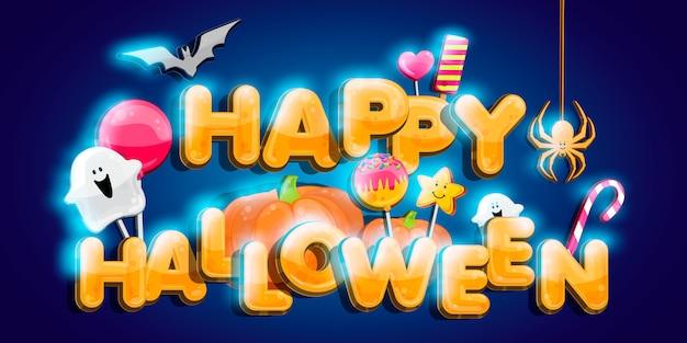 Parche de calabaza de halloween a la luz de la luna.