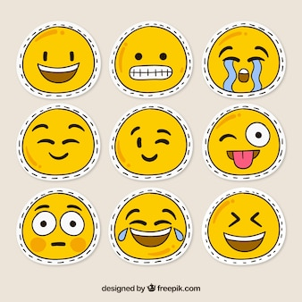 Parches de smileys