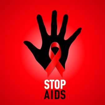 Pare la muestra del sida.