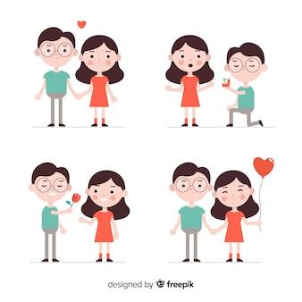 Pareja en colección amor