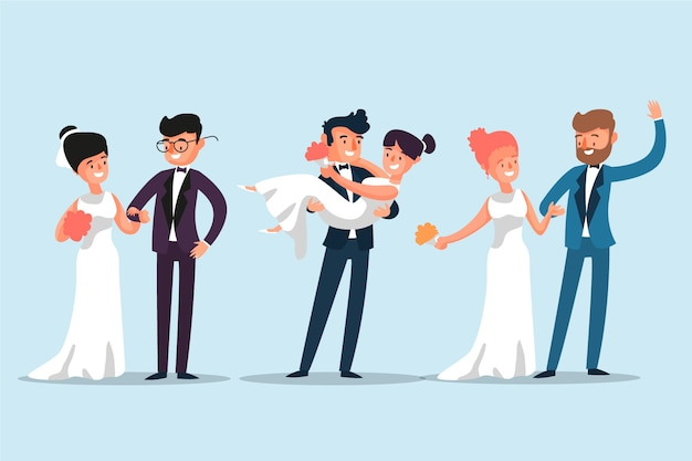 Parejas de boda