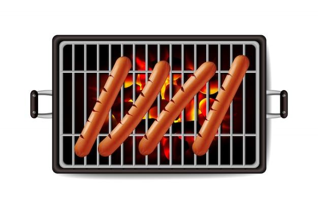 Parrilla de hot dog