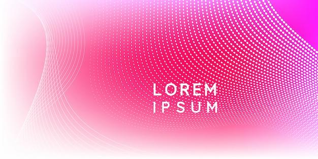 Partícula moderna rosa mínima