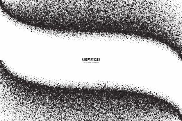 Partículas ceniza gris oscuro fondo abstracto grunge