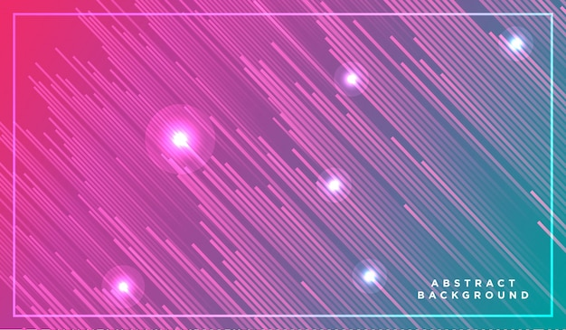 Partículas de luz de neón, estrellas fugaces, meteoritos que vuelan a alta velocidad en el espacio oscuro