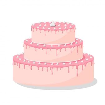 Pastel de cumpleaños con