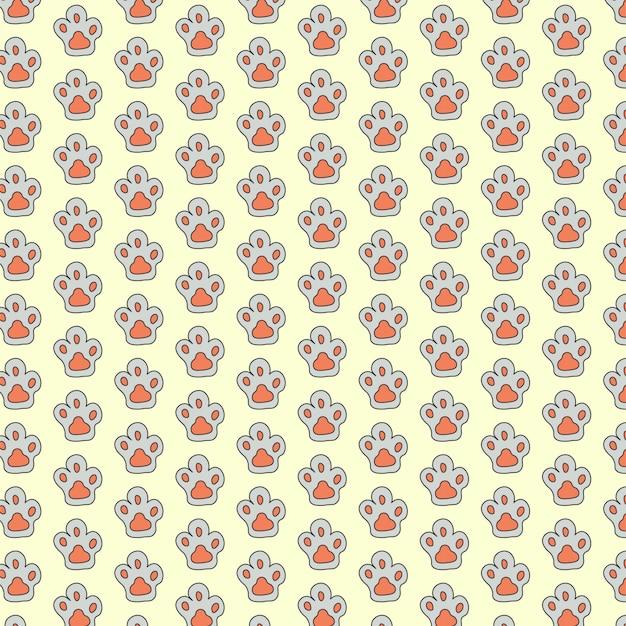 Pata de gato de patrones sin fisuras