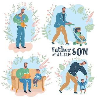 Paternidad padre e hijo