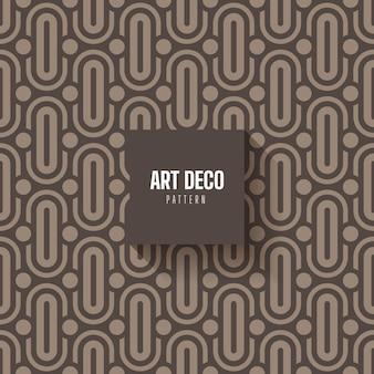 Patrón abstracto art deco