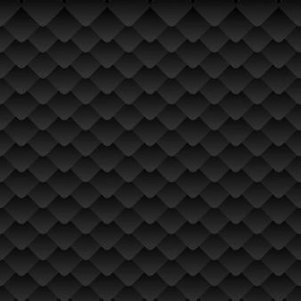 Patrón abstracto de color negro