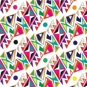 Patrón abstracto de colores