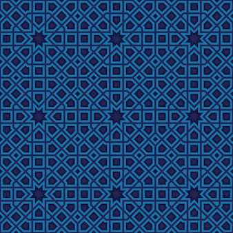 Patrón abstracto en estilo árabe