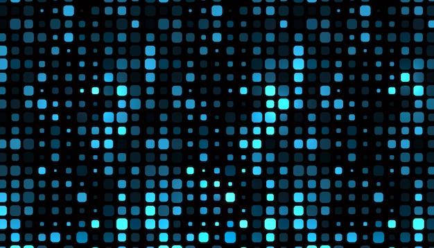 Patrón abstracto de forma cuadrada