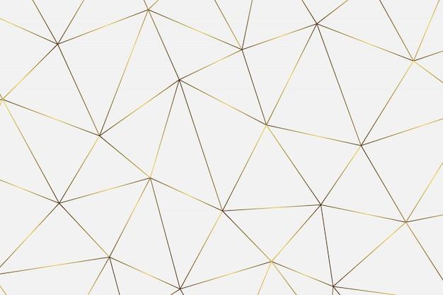 Patrón abstracto geométrico de oro.