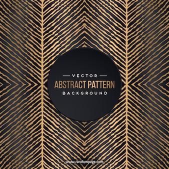Patrón abstracto de lujo