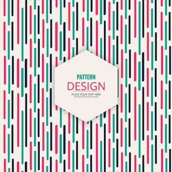 Patrón abstracto de rayas de colores
