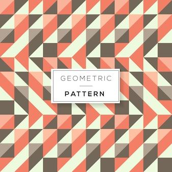 Patrón abstracto con tringle