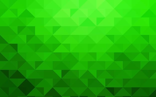 Patrón abstracto de vector verde luz polígono