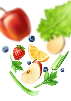 Patrón de alimentos saludables