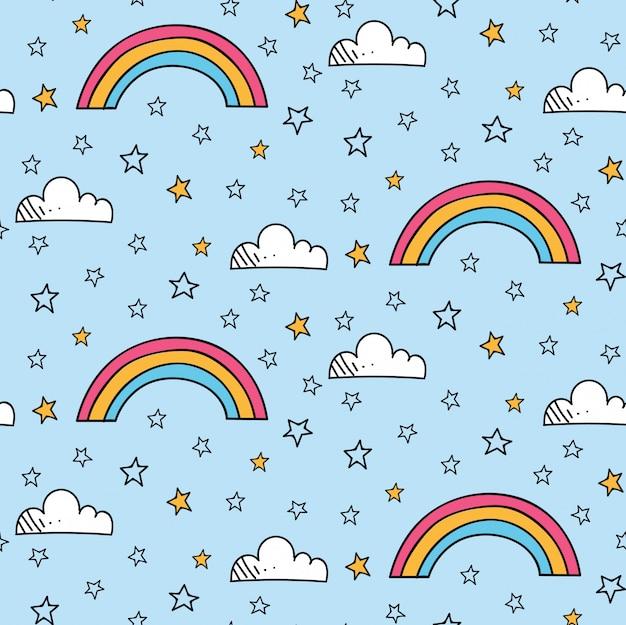 Patrón de arco iris