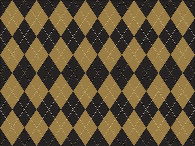 Patrón de argyle sin costuras. fondo de textura de tela. adorno argill clásico