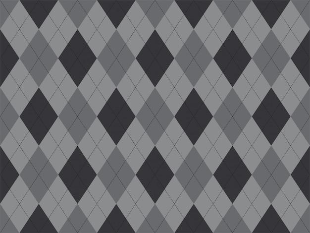 Patrón de argyle sin costuras. fondo de textura de tela.