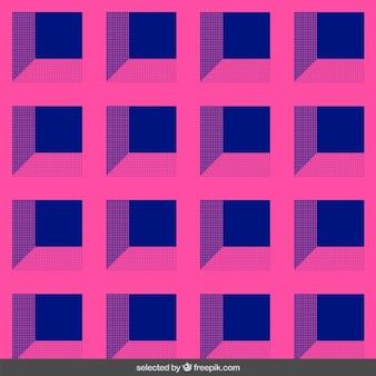 Patrón de arte óptico 3d