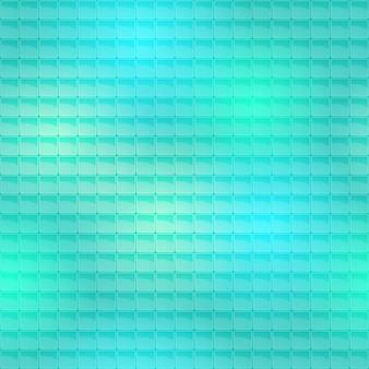 Patrón de azulejos azul transparente