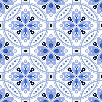 Patrón de azulejos sin costuras