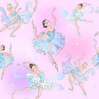 Patrón de bailarinas