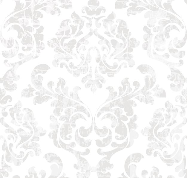 Patrón barroco vintage